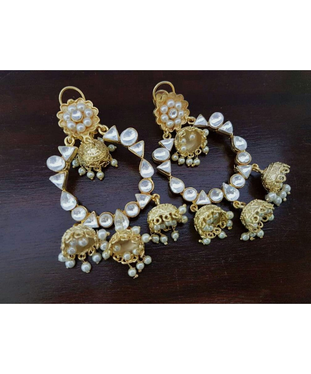 Traditional Jhumka Earrings Pair