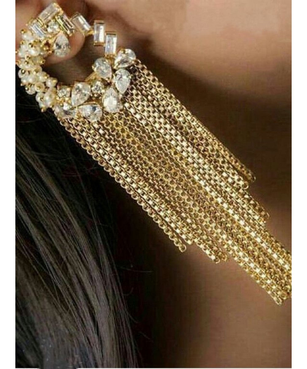 Designer Gold Plated Danglers