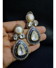Jaipuri Meenakari Work Earrings Pair
