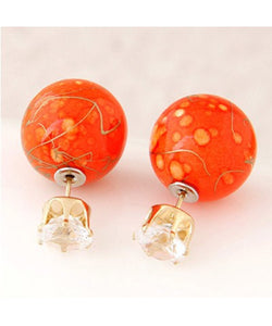 Chunky Designer Colorful Earrings