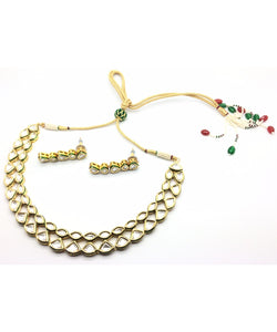 Traditional Bridal Necklace Wit Matching Earrings