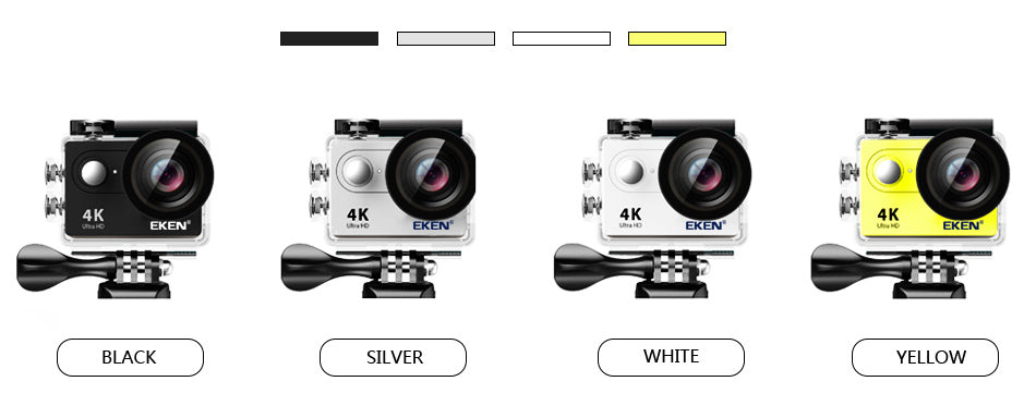 4K Action Camera Cheap - Colors