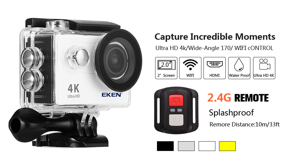 Cheap Action Camera Color Option