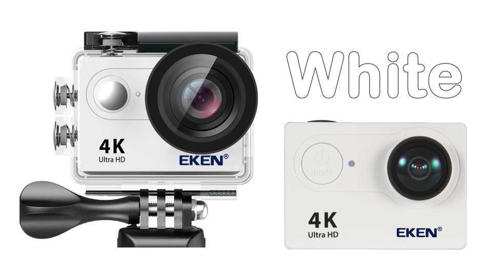 Cheap 4K Action Camera WHITE
