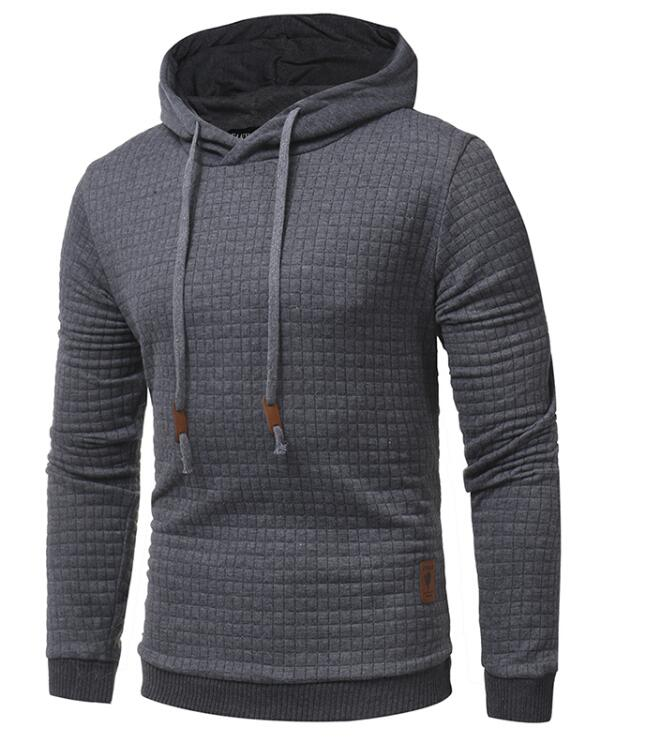 Stag Excursion Hoodie Menswear Dark Grey side