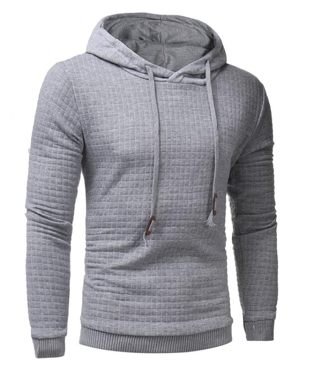 Stag Excursion Hoodie Menswear Light Grey front