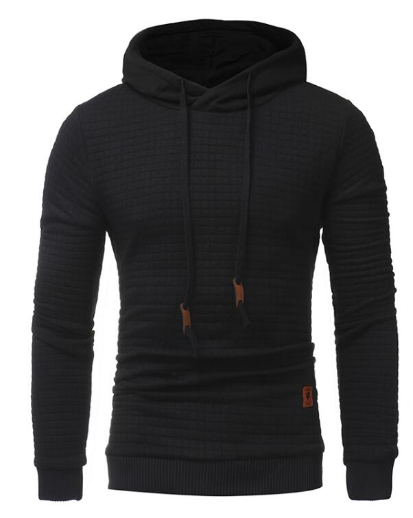 Stag Excursion Hoodie Menswear Black front