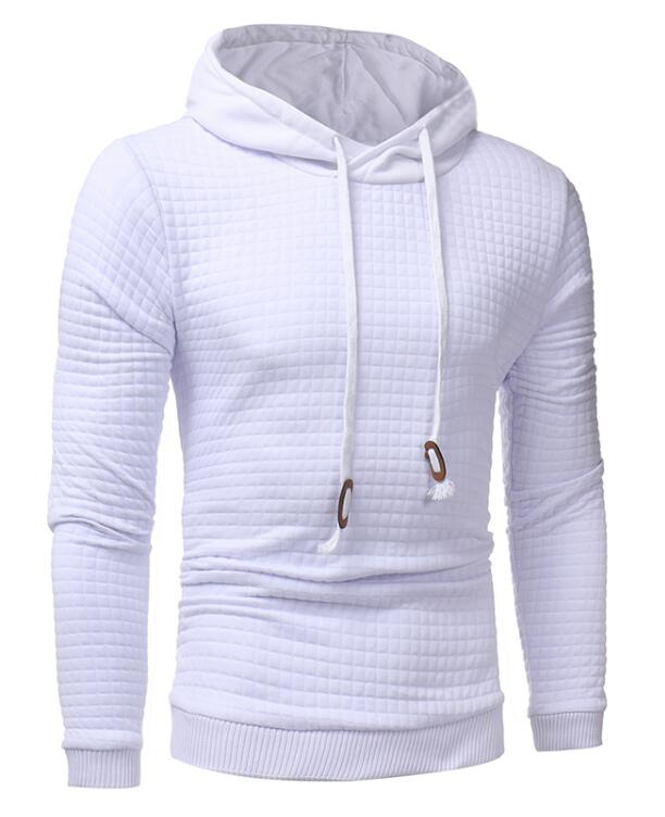 Stag Excursion Hoodie Menswear White front
