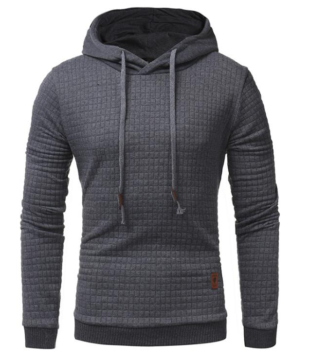 Stag Excursion Hoodie Menswear Dark Grey front