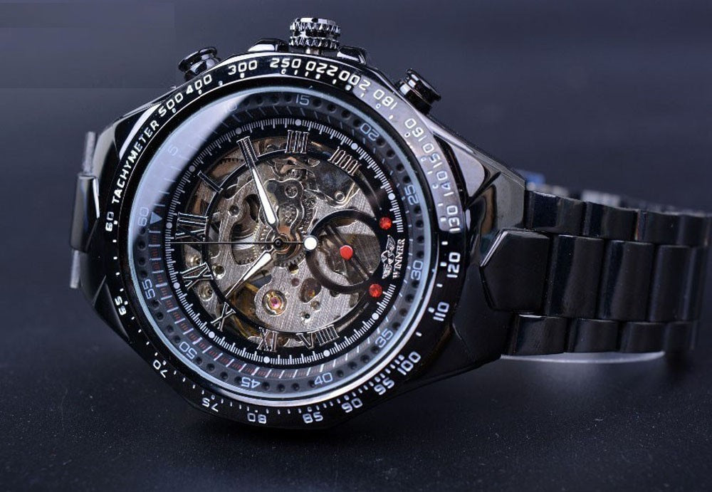 The Champion Openwork Skeleton BLACK
