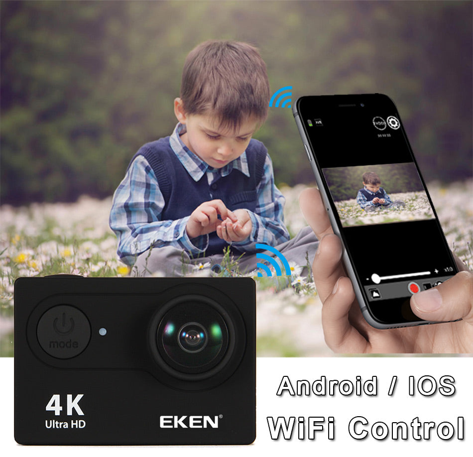 Wifi Control 4K Action Camera