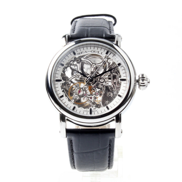 The Seagull Double Skeleton Self Wind Watch