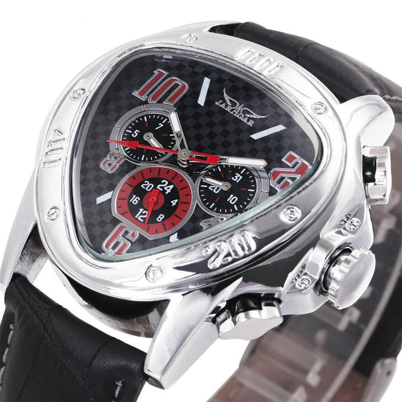 Raceway Men's Luxury Skeleton Watch