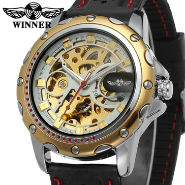 T-Winner Classic Mechanical Skeleton Watch Bachelor Barn
