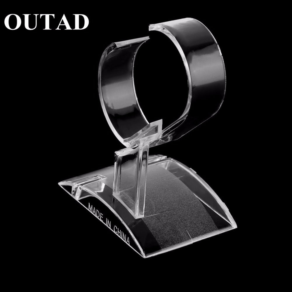 Clear Acrylic Watch Display Stand