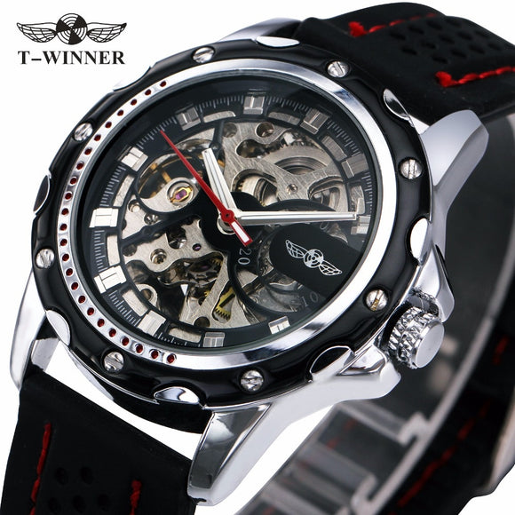 T-Winner Military Skeleton Watch Bachelor Barn