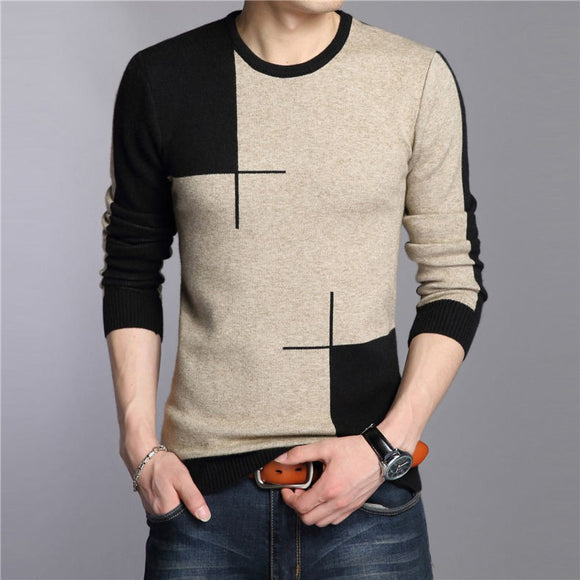 Fashion Knitted Wool Sweater Bachelor Barn