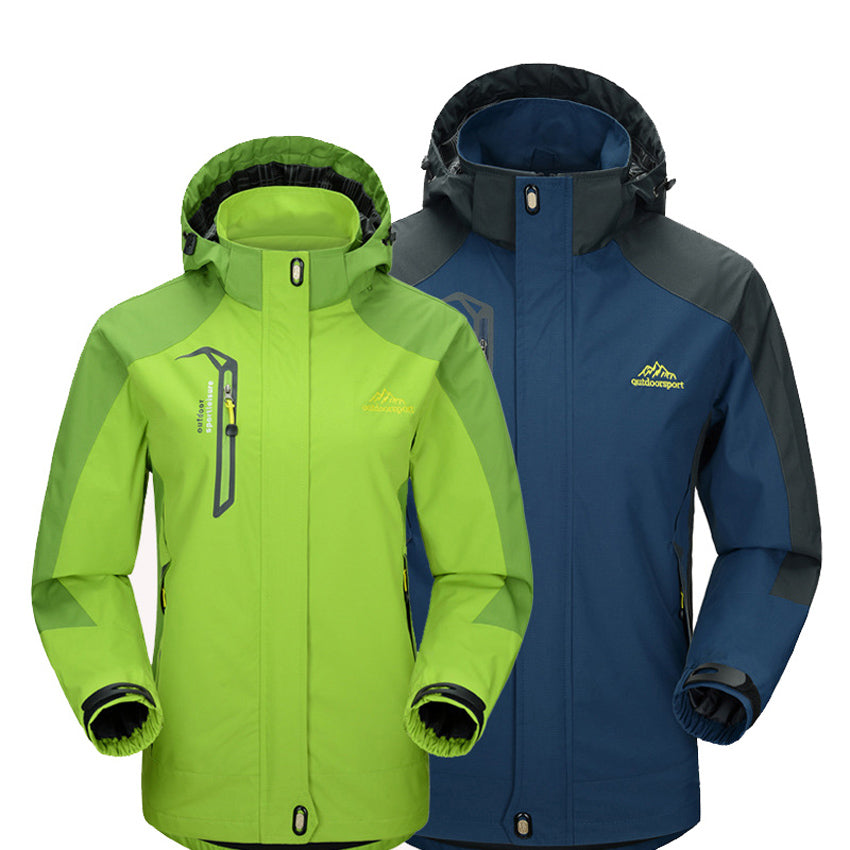 Mountainskin Men's Waterproof Hooded Jackets-Bachelor Barn