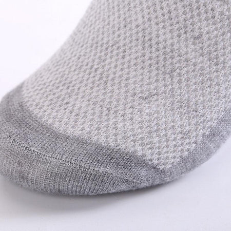 20 Pack - Solid Mesh Men's Socks-Bachelor Barn