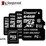 Micro SD Memory Card 8GB, 16GB, 32GB, 64GB, With Card Adapter
