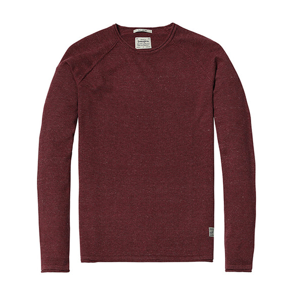 SIMWOOD Slim Fit Thin Mens Knitted Sweater-Bachelor Barn