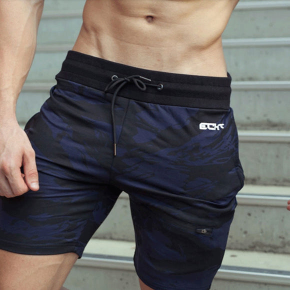 Cotton Bodybuilding Fitness Shorts