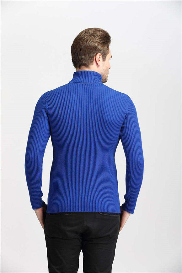 Turtleneck Knitted Jumper Bachelor Barn