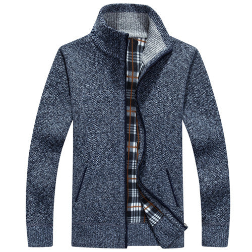 Thick Cashmere Cardigan Bachelor Barn