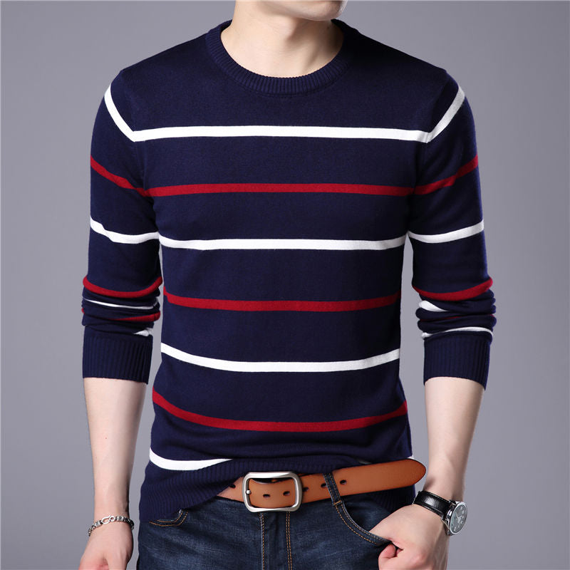 COODRONY Striped Pullover-Bachelor Barn