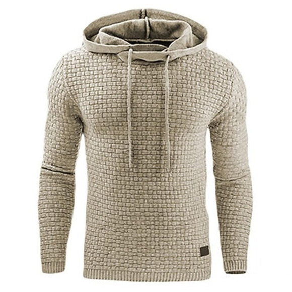 Quilted Slim Fit Hoodie Bachelor Barn
