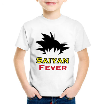Saiyan Fever Dragon Ball Z Kids T-Shirt