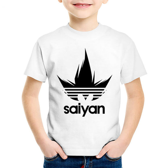 Saiyan Dragon Ball Z Kids T-Shirt