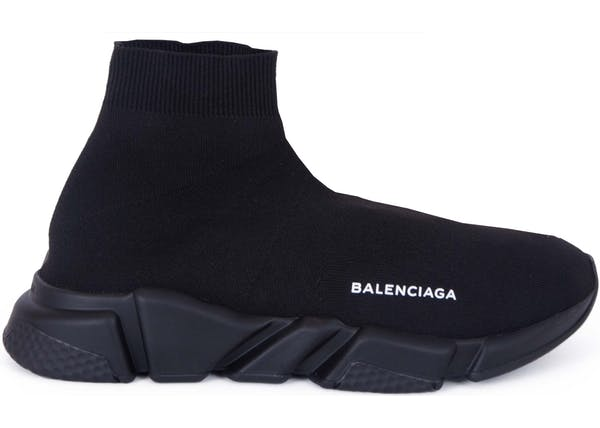 15f7785540acc Balenciaga Speed Trainer Triple Black