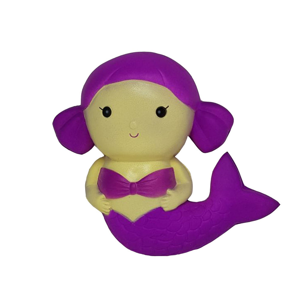 Cute Mermaid Squishy - Purple