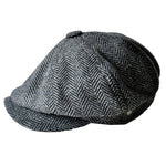 Stylish Vintage Men's Newsboy Cap - Fans of Peaky Blinders would love these!