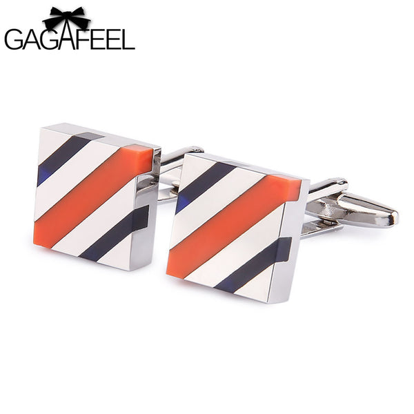 Stripe Cufflinks
