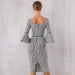 Serena Striped Dress
