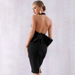 Mariam Backless Cocktail Dress