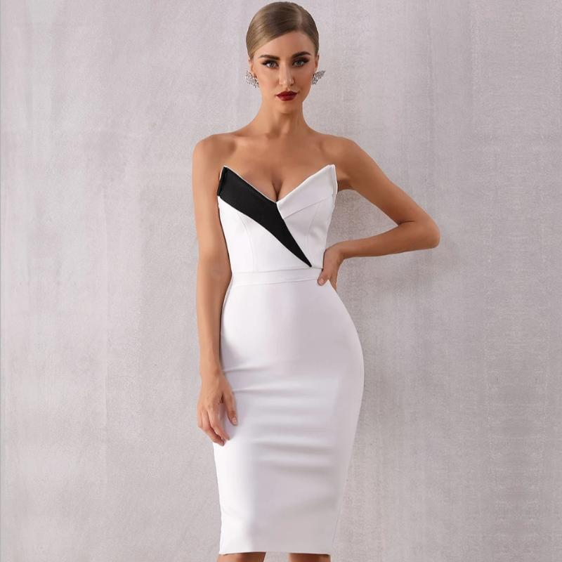 Rayna Strapless Cocktail Dress