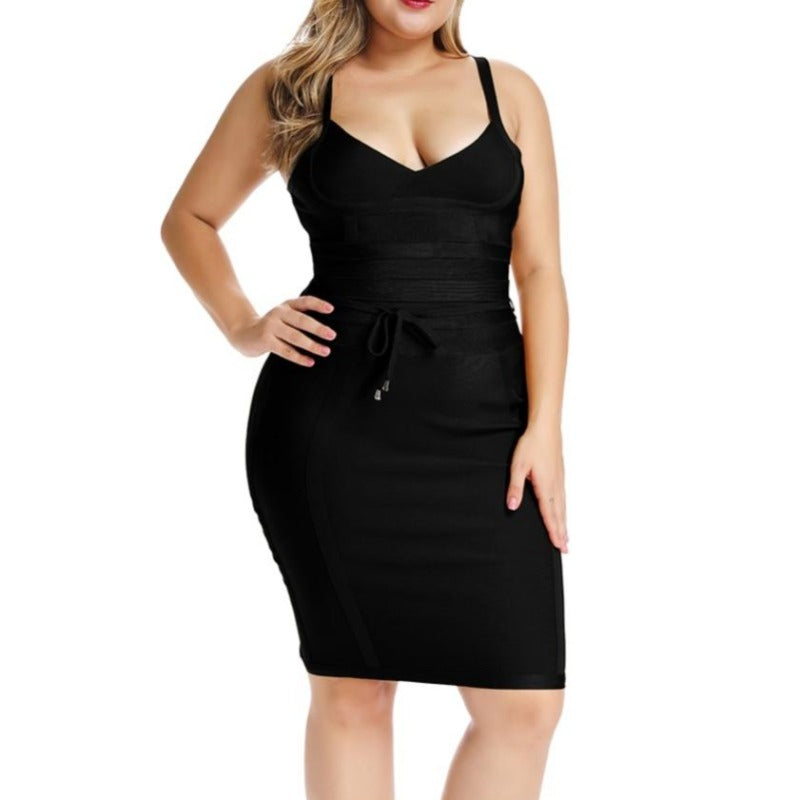 Janell Black Bandage Dress +