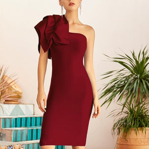Taylor Ruffle Sleeve Dress