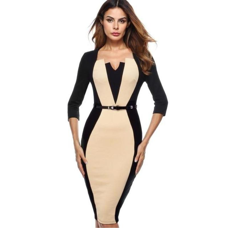 Kelly Office Sheath Dress