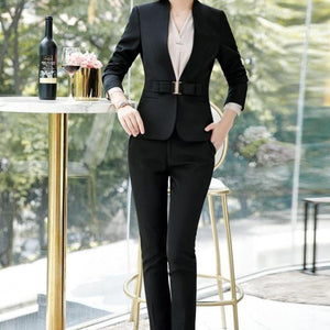 Heather Pant Suit