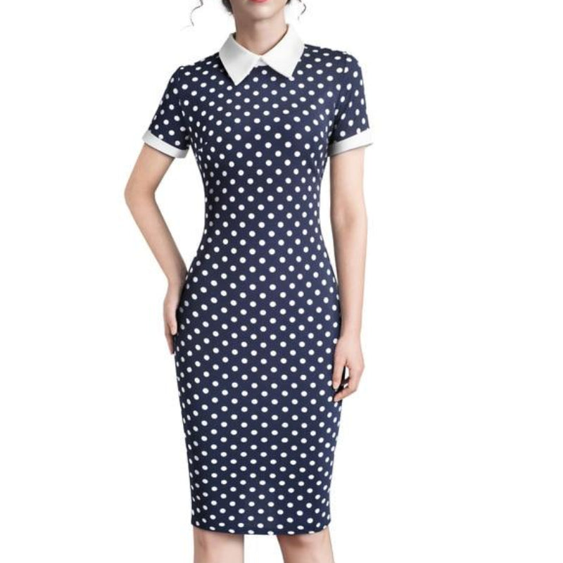 Wendy Pencil Collared Dress