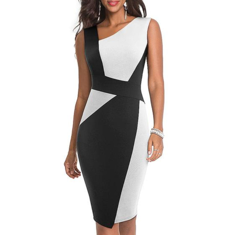 Audrey Sleeveless Sheath Dress