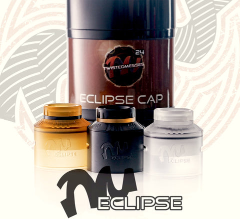 Eclipse Cap for TM24 and TM24 Pro-Series, Accessory,  Twisted Messes,- Lone Star Vapors