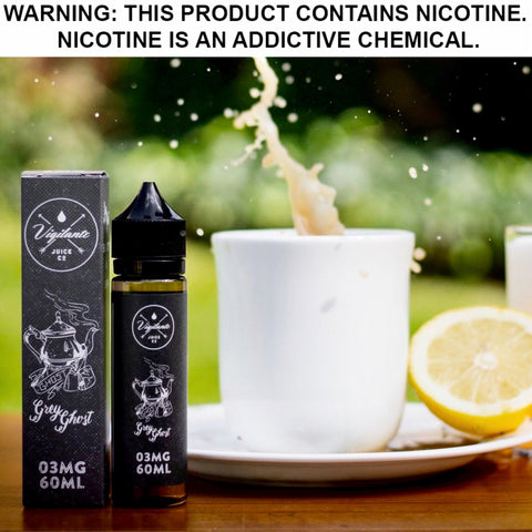 GREY GHOST by VIGILANTE JUICE CO., eJuice,  Vigilante Juice Co.,- Lone Star Vapors