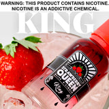 Strawberry Queen eLiquid - King, eJuice,  Strawberry Queen Elite eLiquid,- Lone Star Vapors