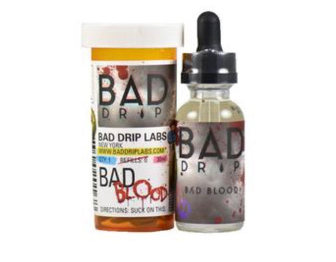 Bad Drip Bad Blood 60ml, eJuice,  Bad Drip E-Juice,- Lone Star Vapors