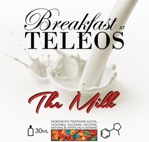 Teleos The Milk 60ml, eJuice,  Teleos,- Lone Star Vapors
